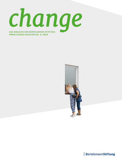 Cover des change Magazins 2/2019
